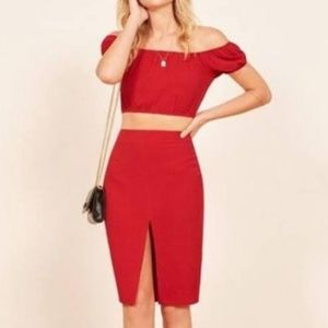 Reformation Allora Two Piece